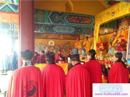 保定一亩泉龙母宫举办2019年传统庙会